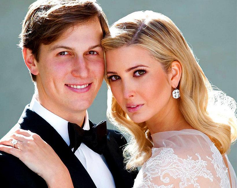 Ivanka Trump, Jared Kushner, suknia ślubna Ivanki Trump, ślub Ivanki Trump