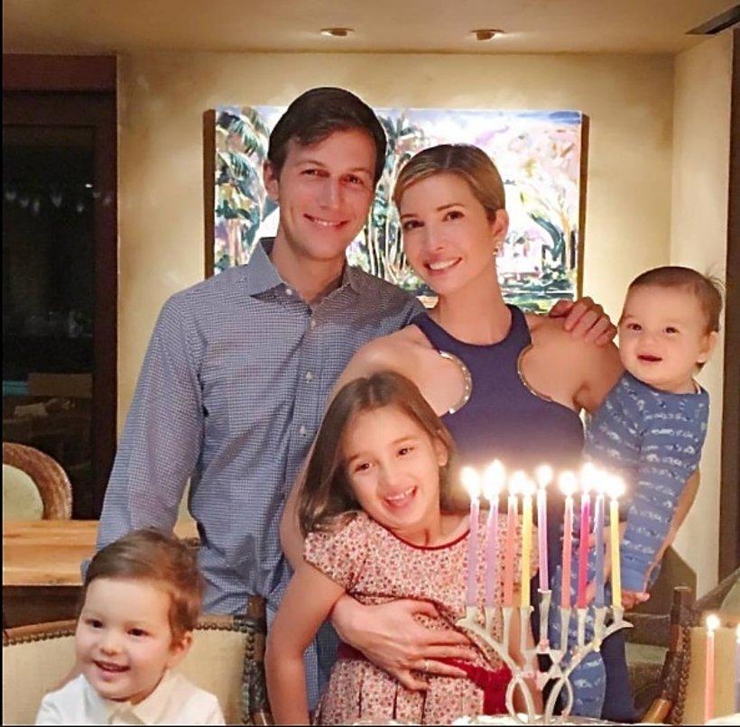 Ivanka Trump, Jared Kushner z dziećmi