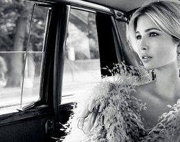 Ivanka Trump w limuzynie