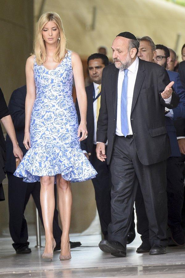 Ivanka Trump w Warszawie