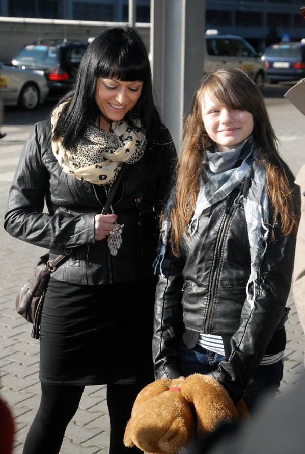 Iza Małysz, Karolina Małysz 2011