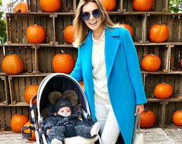 Izabela Janachowska zachwyciła stylizacją podczas spaceru z synkiem