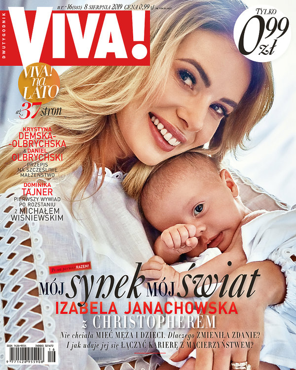 Izabela Janachowska, Viva! 16/2019, okładka