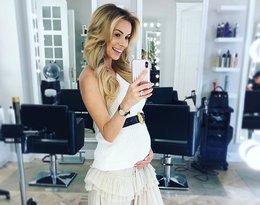 Izabela Janachowska w ciąży