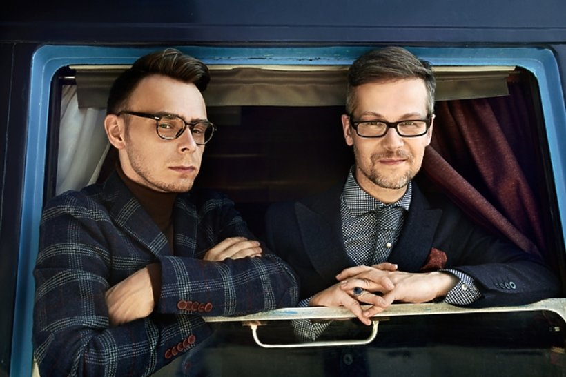 Jacek Dehnel i Piotr Tarczyński, sesja dla VIVY!
