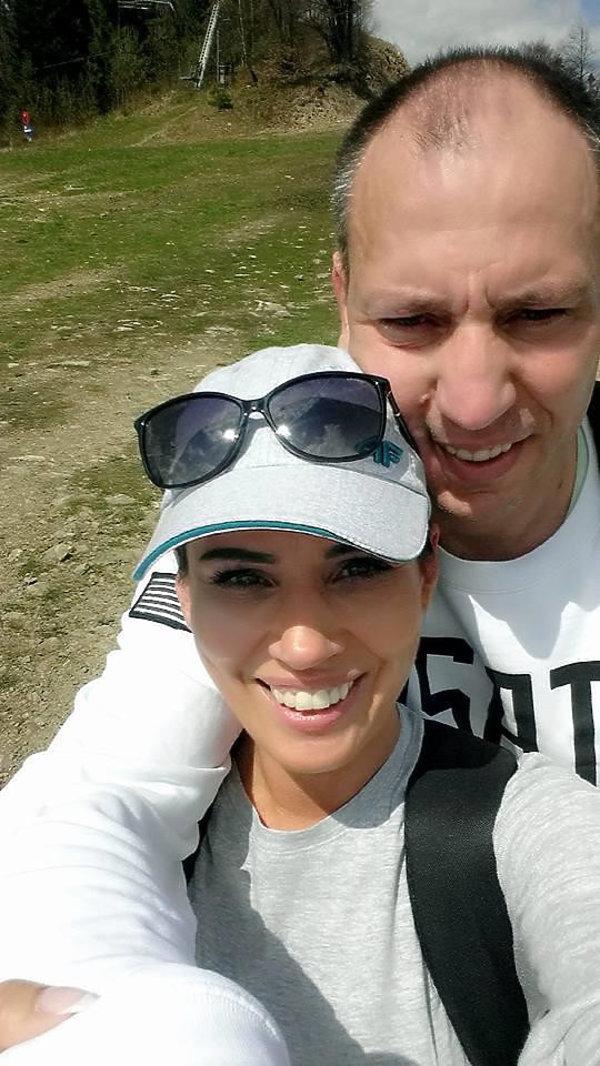 Jacek Olszewski i Agnieszka Frąckowiak
