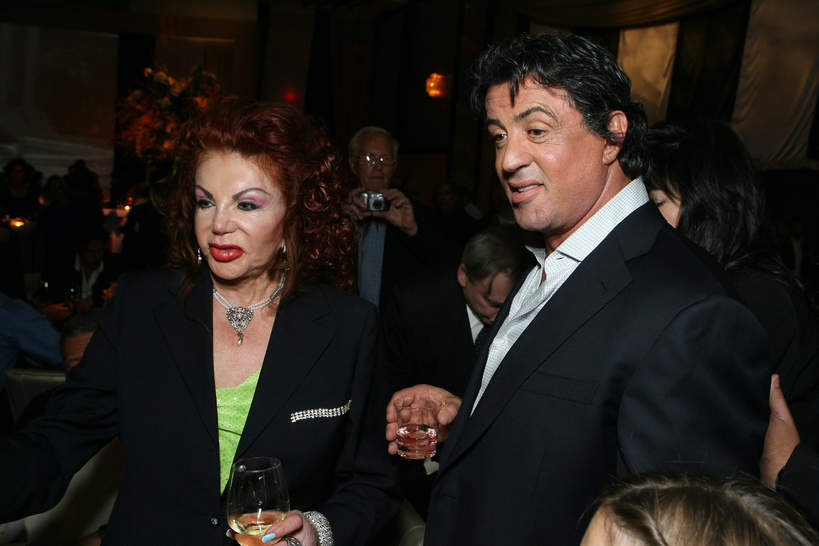 Jackie Stallone, Sylvester Stallone