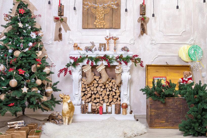 jak amerykanie dekorują swoje domy na święta