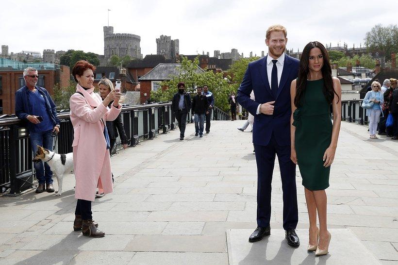 Jak Brytyjczycy szykują się do ślubu Meghan i Herry'ego, Meghan Markle, książę Harry