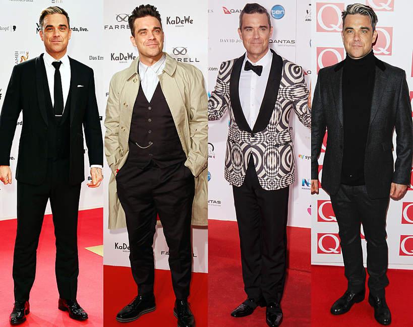 Jak sie zmienił Robbie Williams