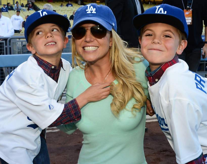 Jak wyglądają synowie Britney Spears?