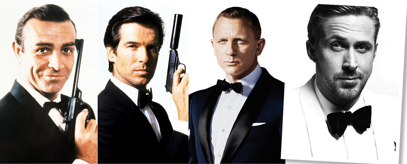 James Bond i Ryan Gossling