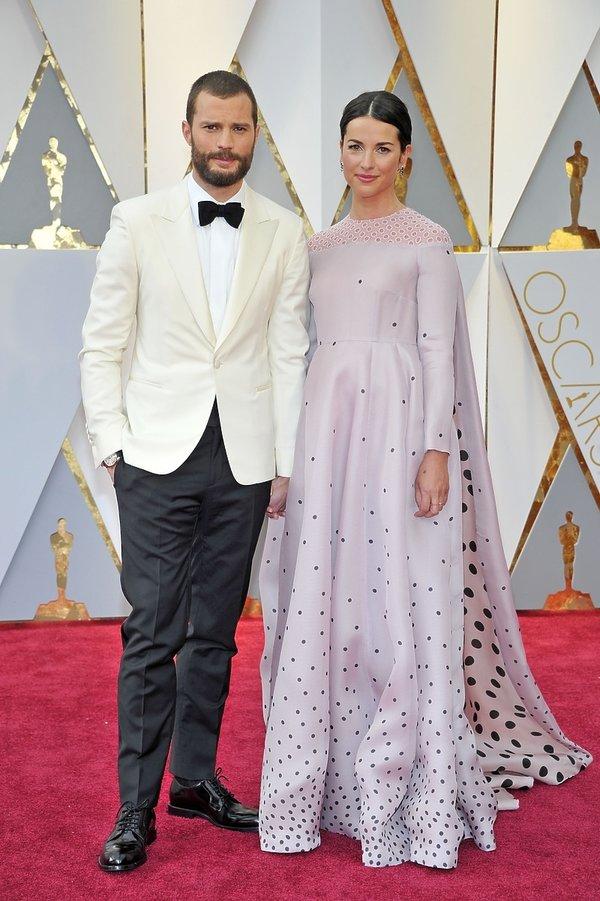 Jamie Dornan z żoną, Amelia Warner