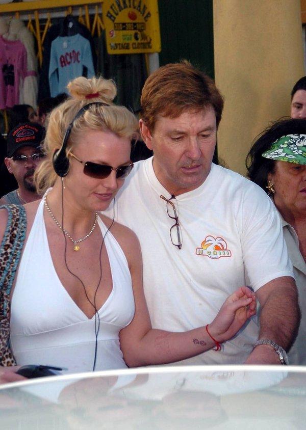 Jamie Spears, Britney Spears z ojcem