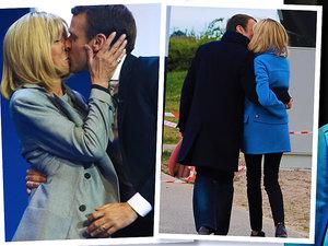 jamnik mowa ciała Macron