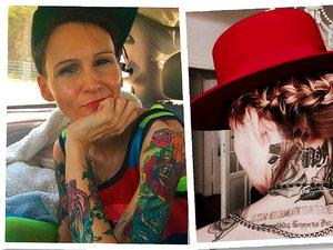 jamnik tatuaże gwiazd