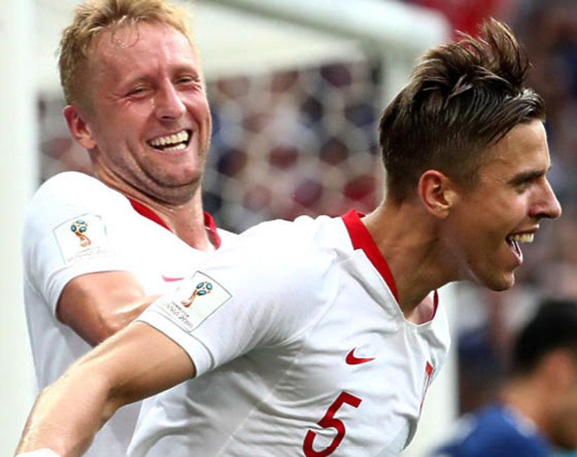 Jan Bednarek, Kamil Glik, mecz Polska-Japonia, Mundial 2018