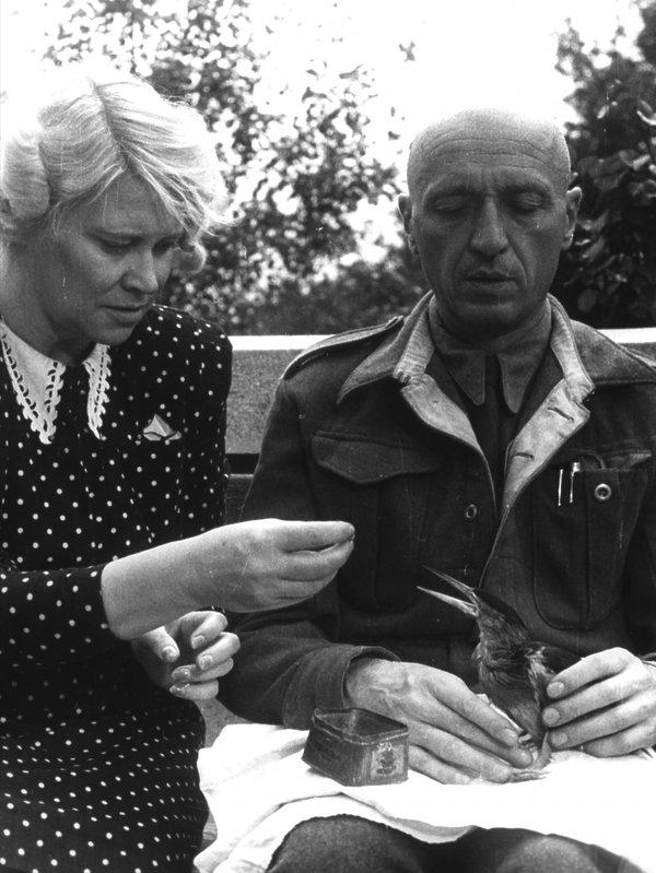 Jan Żabiński i jego żona Antonina