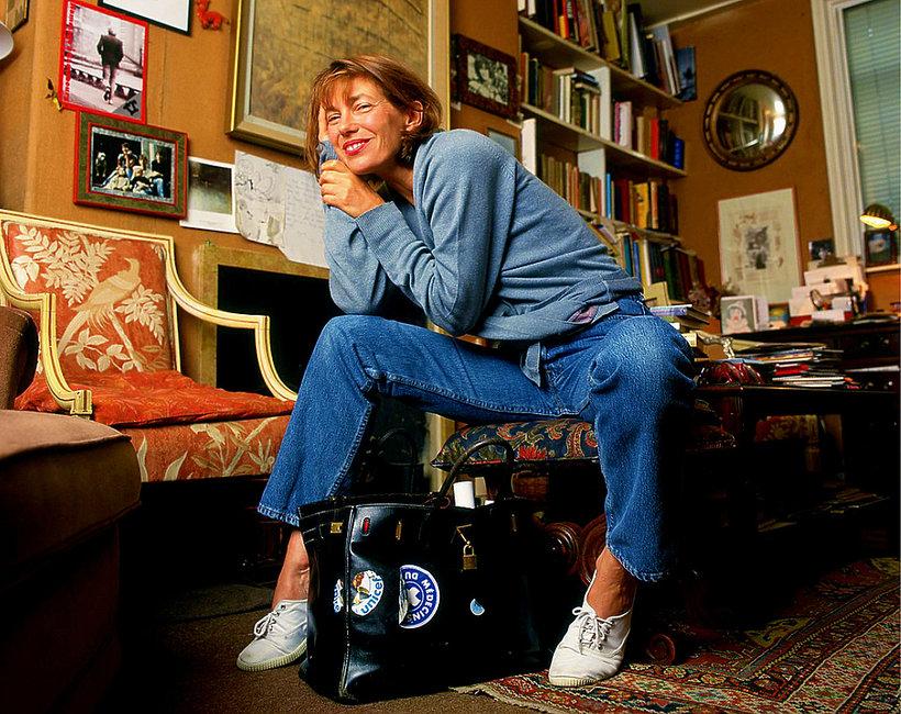 Jane Birkin, 1996, torba Birkin