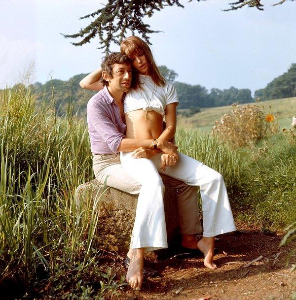 Jane Birkin, Serge Gainsbourg, 1969