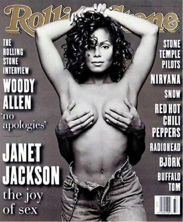 Janet Jackson na okładce Rolling Stone