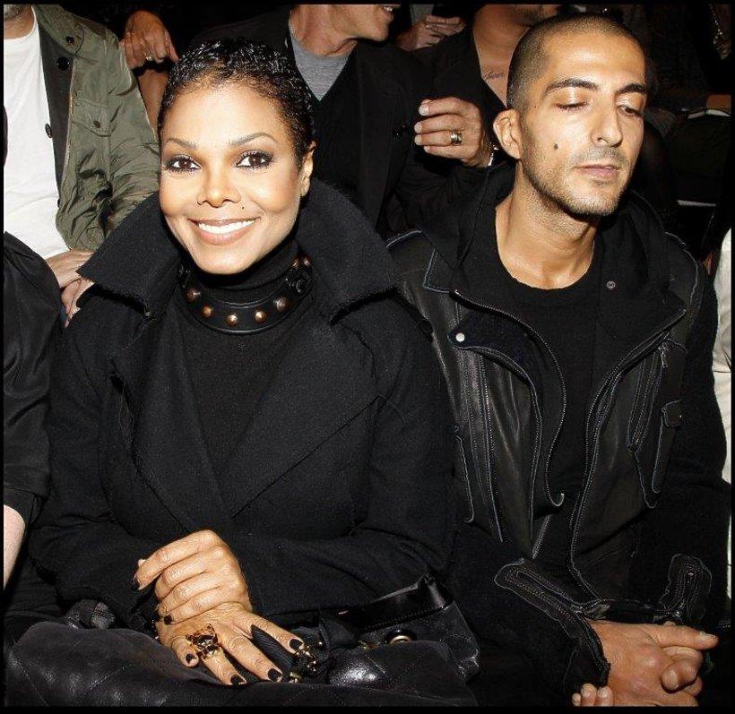 Janet Jackson z mężem