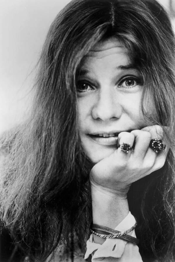 Janis Joplin, portet