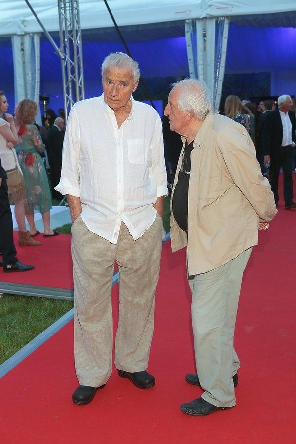 Janusz Głowacki i Jerzy Iwaszkiewicz