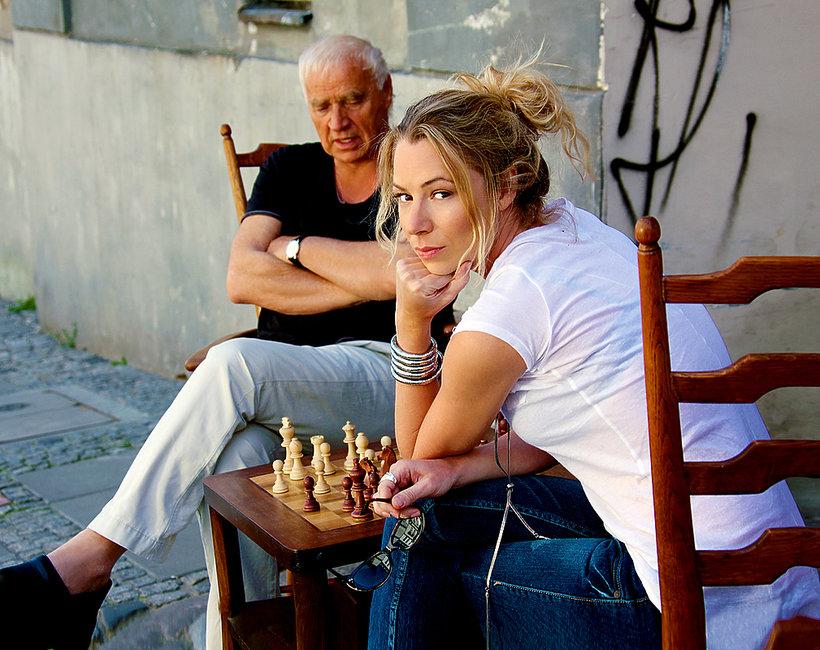 Janusz Głowacki z córką, VIVA! 2010
