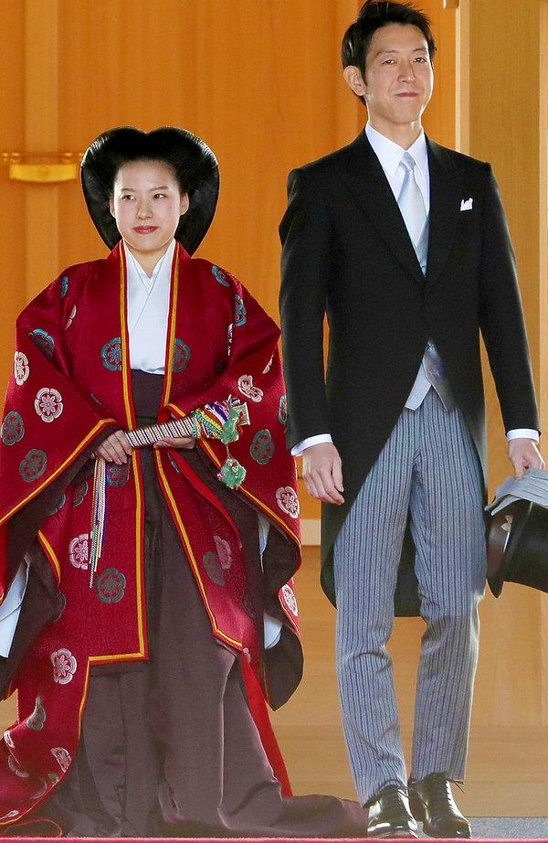 japoński ślub, księżniczka Ayako