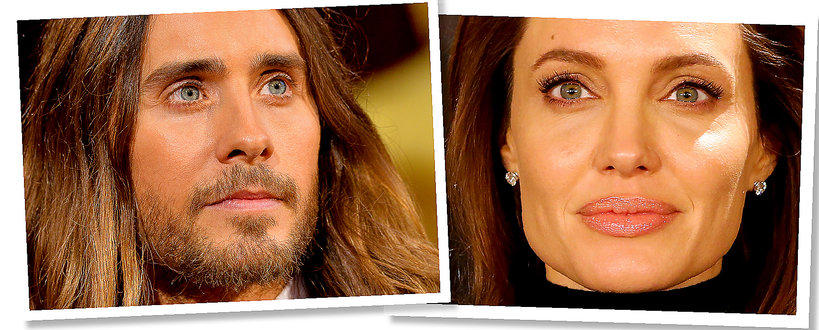 Jared Leto i Angelina Jolie