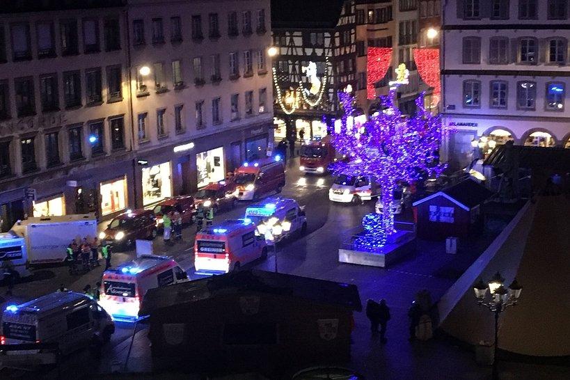 Jarmark w Strasburgu, strzelanina
