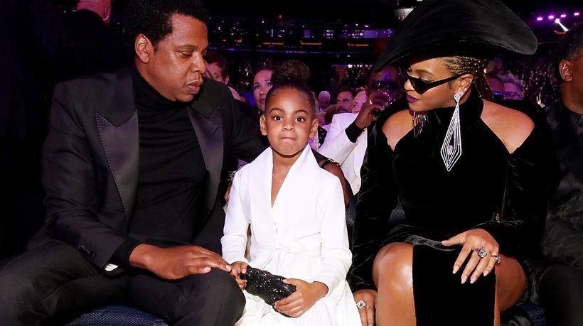 Jay Z, Blue Ivy, Beyonce, Grammy 2018