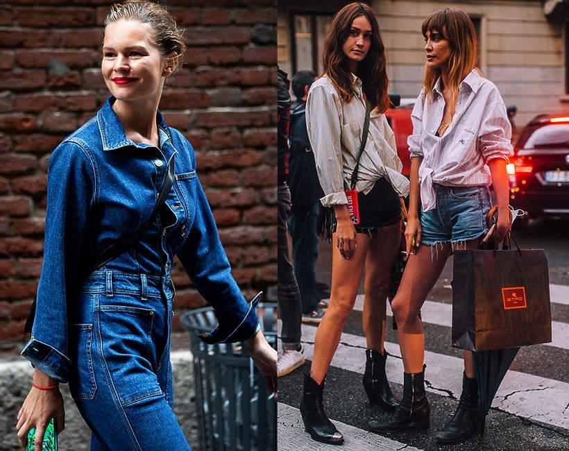 jeansowe spodnie i szorty 2021