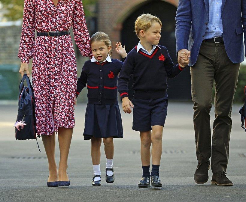 Jednorożec księżniczka Charlotte, książęGeorge
