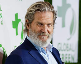 """Jeff Bridges poinformował fanów, że walczy z rakiem. """"Rokowania są dobre"""""""