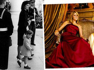 Jenna i Barbara Bush, John Kennedy jr., córki Obamy