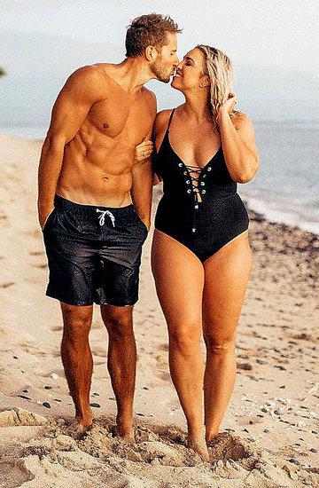 Jenna Kutcher, fotografka, ma rozmiar plus size i wysportowanego męża