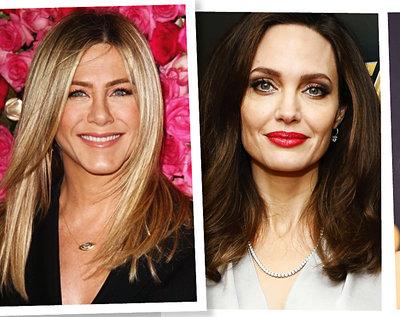 Jennifer Aniston, Angelina Jolie, Nicole Kidman, Jennifer Lopez, gwiazdy po 40