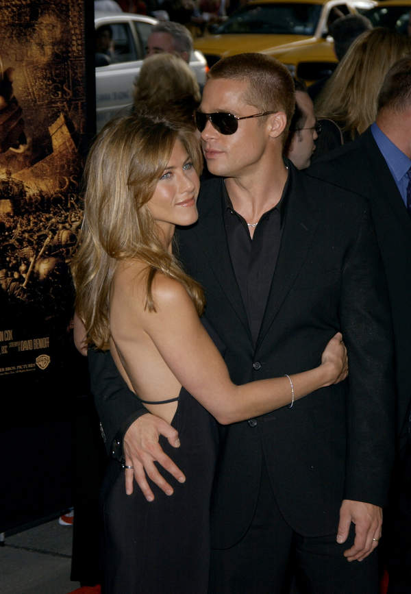 Jennifer Aniston, Brad Pitt, 2004 rok