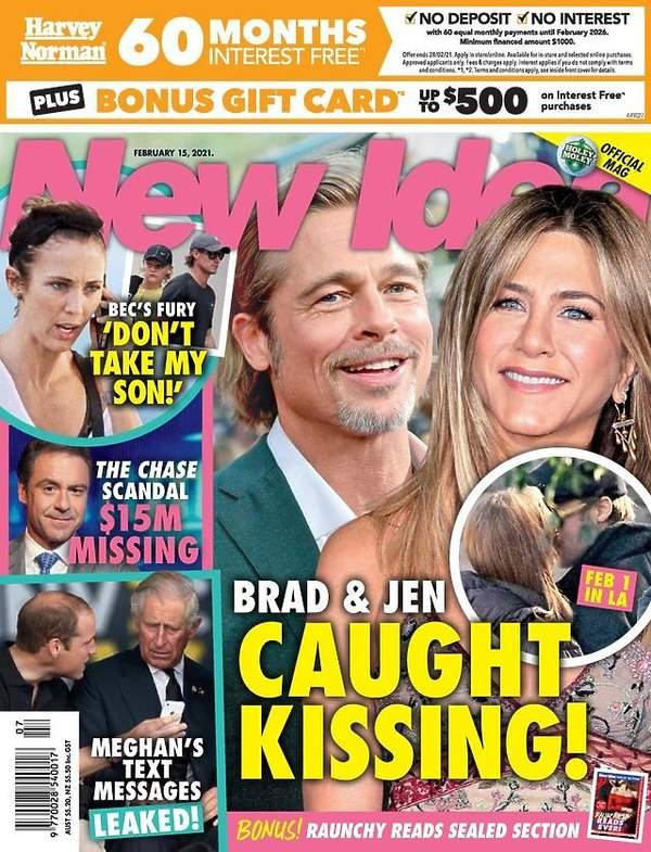 Jennifer Aniston i Brad Pitt, co ich łączy?