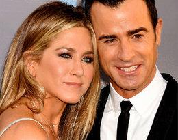 Justin Theroux chce odbudować relacje z Jennifer Aniston?!