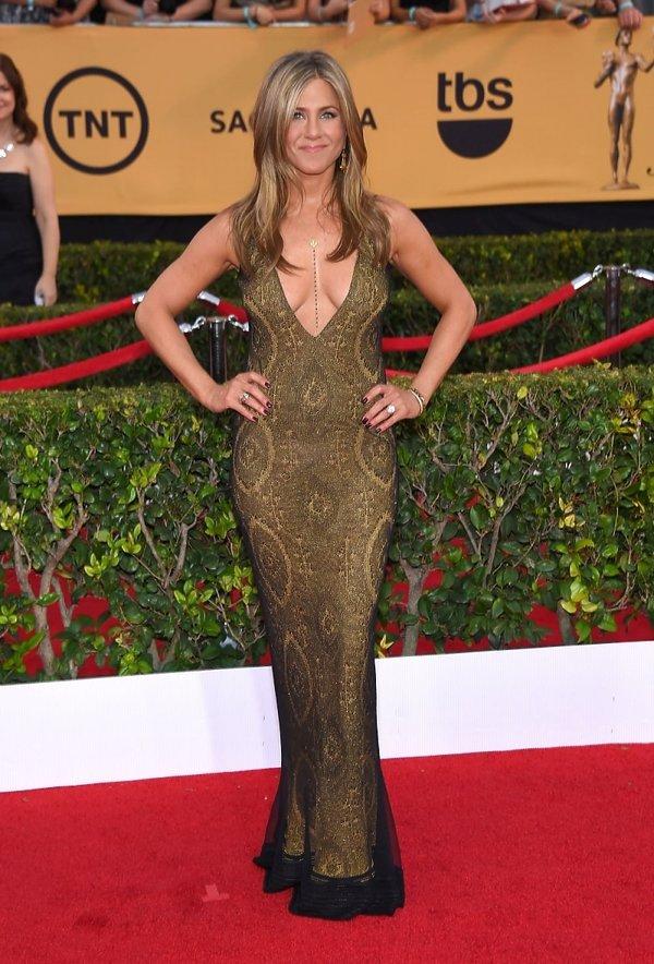 Jennifer Aniston na gali SAG Awards