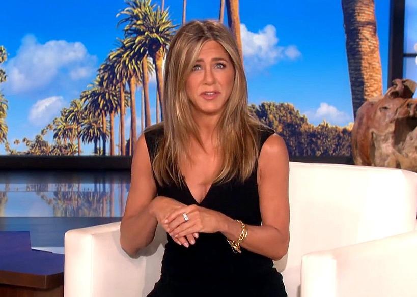 Jennifer Aniston, show Ellen DeGeneres, 2020