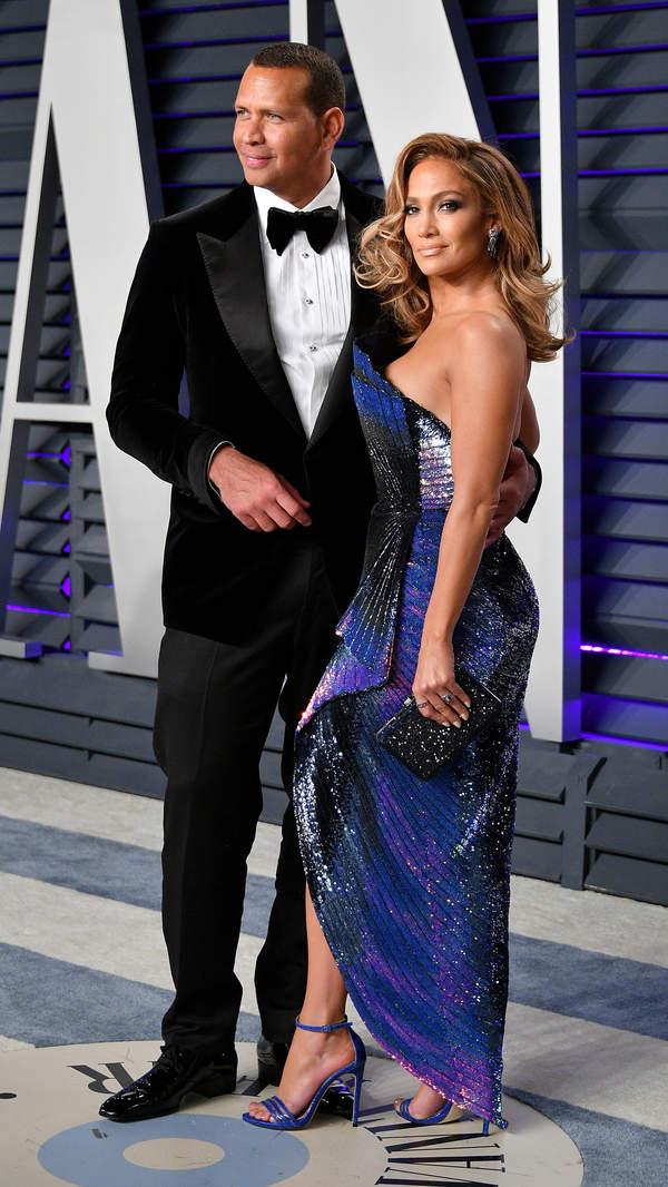 Jennifer Lopez i jej narzeczony Alex Rodriguez