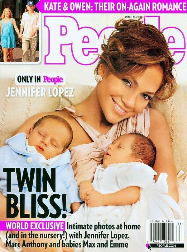 Jennifer Lopez, okładka, People