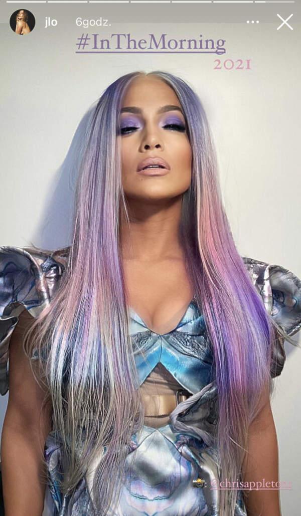 Jennifer Lopez sylwestrowy look 2020