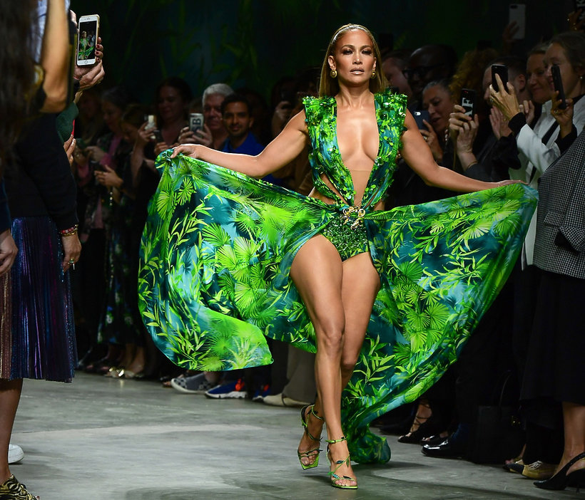 Jennifer Lopez, Versace, 2019