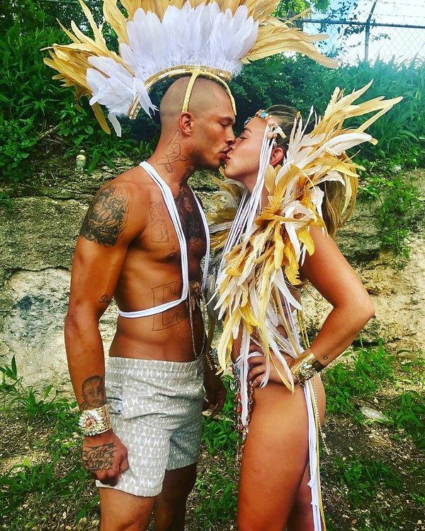 Jeremy Meeks i Chloe Green