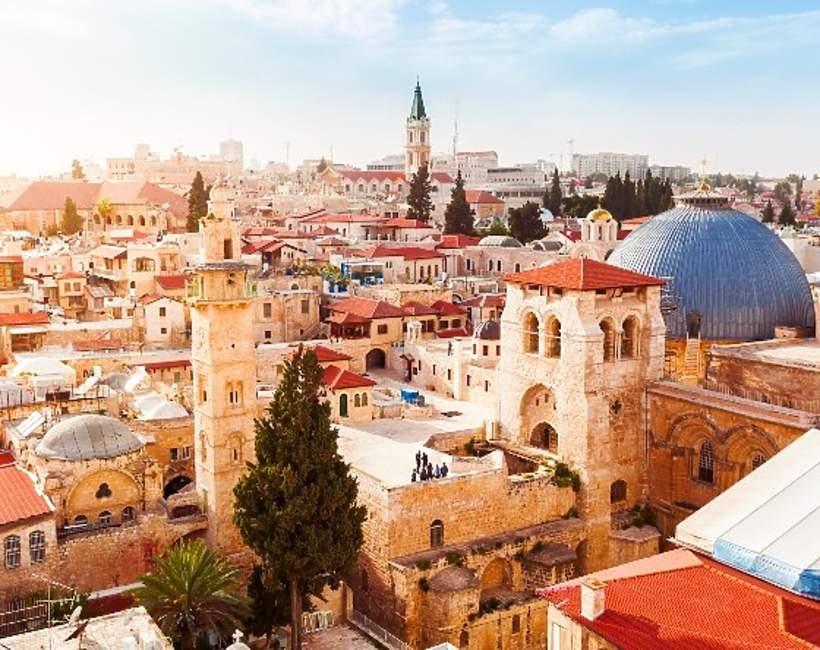 Jerozolima, śladami Chrystusa